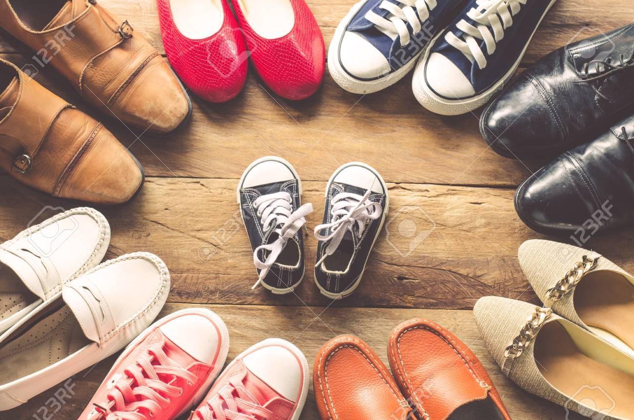 обувь взрослая и детская
